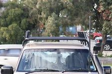 PATROL GU (2000-2010)TRADESMAN STEEL ROOF RACK GUTTER MOUNTED BASKET UNIVERSAL
