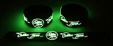 The Cadillac Three NEW! Glow in the Dark Rubber Bracelet Wristband  GG347