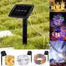 100 LED 10M Solar LED Fairy Light String Party Xmas Home Garden Outdoor Decor KC