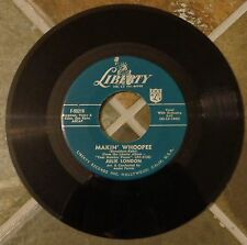 """45 RPM Jazz By Julie London, """"Makin' Whoopee"""" on Liberty"""