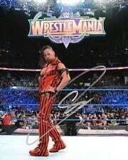 SHINSUKE NAKAMURA SIGNED WWE WRESTLEMANIA PHOTO NJPW
