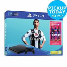 Sony Playstation PS4 500GB Console Black FIFA 19 Bundle