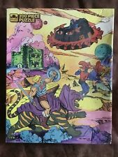 He-Man Masters of the Universe MOTU 200 Piece Puzzle 14x18 Golden 1985 (G1)