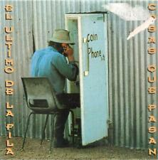 EL ULTIMO DE LA FILA - COSAS QUE PASAN CD SINGLE 1 TRACK PROMO 1994 PEGATINA