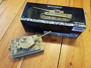 Minichamps Panzer VI TIger I Late Version 1/35 Boxed