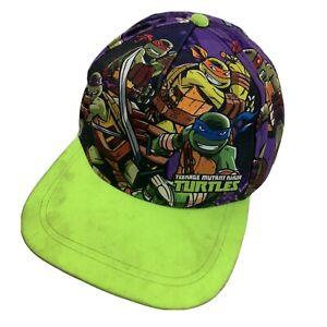 Teenage Mutant Ninja Turtles Youth Ball Cap Hat Snapback Baseball