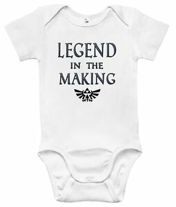 Baby Bodysuit - Legend in the Making Zelda Baby Clothes Infant Boys and Girls