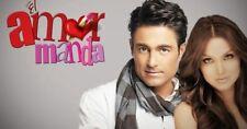 Telenovela Dvd Porque el amor manda 37 dvd's $135.00