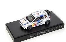 Spark Model Volkswagen Polo R #2 WRC  1:43 VW712396 1:43 1/43