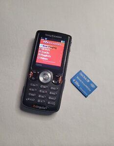 Sony Ericcson W810i - Satin black Cellular Phone (Cingular)  with Sim Card