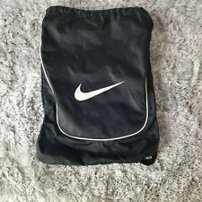 Nike Black Lightweight Day Pack With Chenille Cords Great Pre-owned Condition