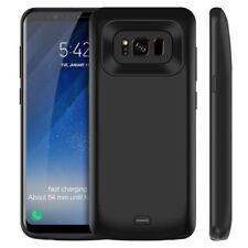5500mah Batterie Power Bank Case für Samsung Galaxy S8 plus Zusatzakku hülle De