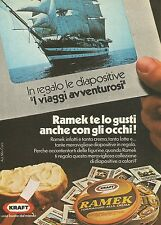 X7813 Formaggini Ramek - Kraft - Pubblicità 1976 - Vintage Advertising