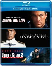 Steven Seagal - Above the Law / Under Siege / Under Siege 2: Dark Territory [New