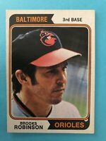 1974 Topps Baseball Card #160 Brooks Robinson Baltimore Orioles HOF