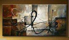 """Large 24 """"x 48"""" hand-painted wall art abstract oil painting canvas(no frame)"""