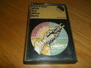 Pink Floyd, Wish You Were Here,  Cassette Tape