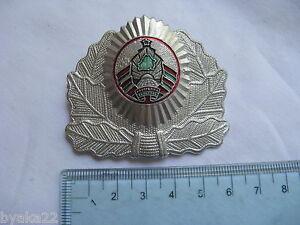 n°28 insigne russe cocarde CHAPKA casquette Biélorussie  képi