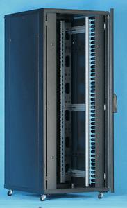 47U server rack cabinet 800W X 1000D x 2200H comms rack Patch Panels FLATPACK
