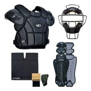 Champro Professional Varsity Complete Baseball Umpire Kit - Black (NEW)