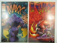 1993 Image Comics  Set of 2  THE MAXX #4 #9  VOL #1  VF