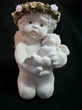 Dreamsicles Golden Cherub & Child 10656