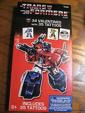 The Transformers - 34 Valentines with 35 Transformer Tattoos