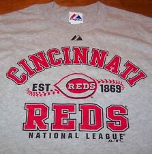 CINCINNATI REDS MLB BASEBALL EST 1869 T-Shirt MEDIUM NEW