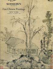 SOTHEBY'S Fine Chinese Paintings Qi Baishi Ren Yi Auction Catalog 1985