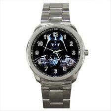 Darth Vader Star Wars Calidad deporte Metal reloj de pulsera De Regalo Nuevo