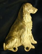 Field Spaniel Hook in Bronze