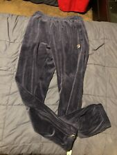 fila velour pants