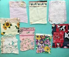 Shabby Chic Fabric Flips Junk Journal Scrapbook Squares Card Quarters Pockets