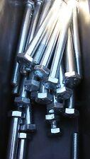New listing M8-1.0 X 100 Hex Bolt 8.8 Fine Tread (10pcs) Zinc