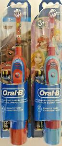 ORAL-B Stages Power elektrische Zahnbürste Disney Pixar Jungs Mädchen 2 Minuten