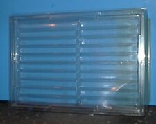 Vintage Fountain Pen Pencil Plastic Display Case Holds 20 Items Pop Off Top Cln