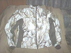 Mens Medium Snow Camo Jacket Liner Insulated Waterproof Jacket Liner Hunting