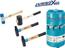 HAZET 2140/4 Hammer Satz Schlosser Plastik Gummi JumBoX 4.0 4 Stück