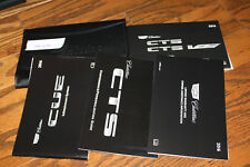 2016 Cadillac Cts Cts-V owners manual with case and navigation manual Cad1644