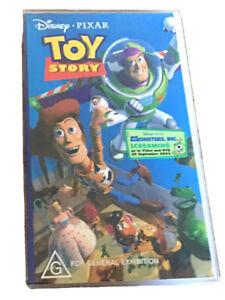 "VHS: ""TOY STORY"" Disney Pixar"