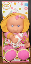 "Goldberger Plush pink 14"" doll Loll + bottle blue eyes Thumb sucker New Tags"