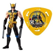 Wolverine Movable Figure Bandai Disk Wars Avengers Free Shipping Japan