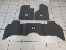 DODGE RAM1500 2500 3500 4500 5500 Dark Khaki Carpet Floor Mats Front&Rear MOPAR