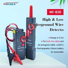 Noyafa Nf 820 Highamplow Voltage Underground Wall Wires Fault Locator Cable Finder