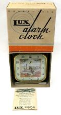 late 1940's Lux SHOW BOAT #271 animated alarm clock working MINT in box *