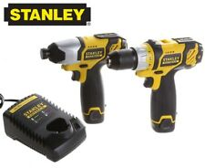 Stanley FatMax Impact Driver & Cordless Drill 10.8V  2 x Battery & Charger