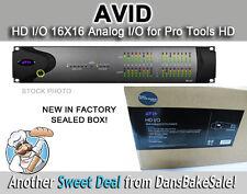 Avid HD I/O 16X16 Analog I/O for Pro Tools HD - Factory Sealed Box 9900-58670-00