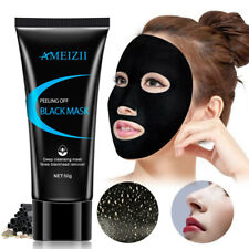 Ameizii Blackhead Remover-Deep Cleansing Black Mud Mask-Acne Pore Strip Peel NM3