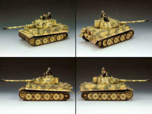 King & Country WS151 German Camo Panzer Tiger I Heavy Tank With 2 Crew New
