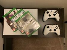 New listing Xbox One S - 500Gb, White + 2 controllers + 3 Games